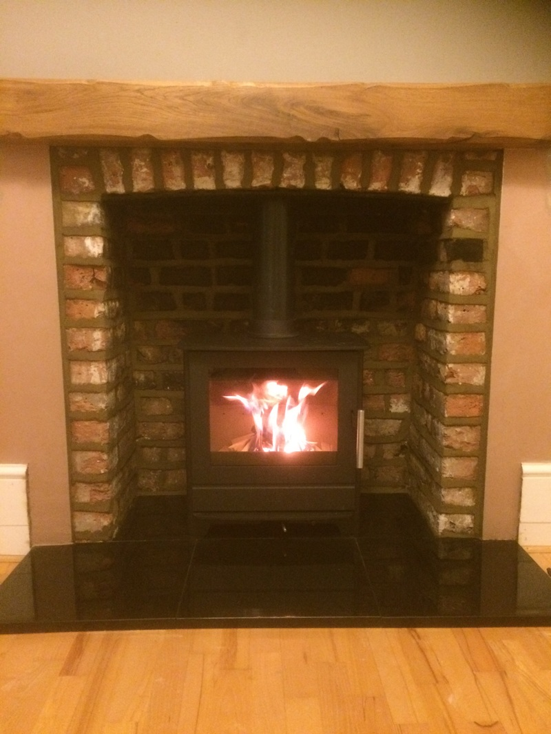 Gravesend Darnley Road Fireplace - Kent Log Burner Company